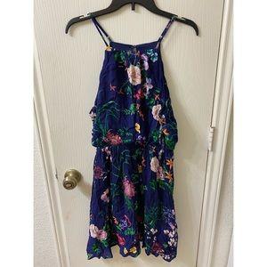 Stretchy floral dress